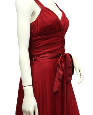 Red Party Dress Size L