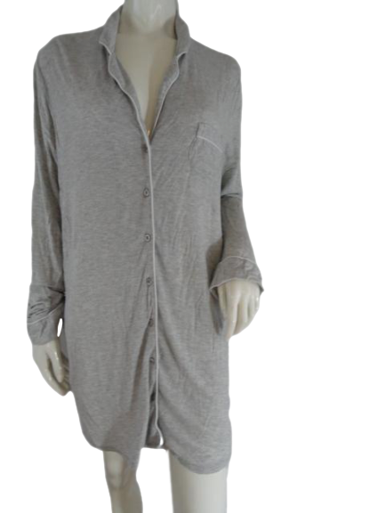 Lingerie Gray Sleep Shirt Size L SKU 000174