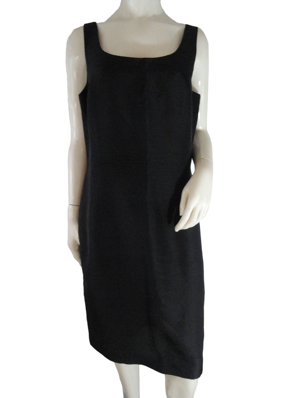 Liz Claiborne Dress Black Size 14 (SKU 000268-6)