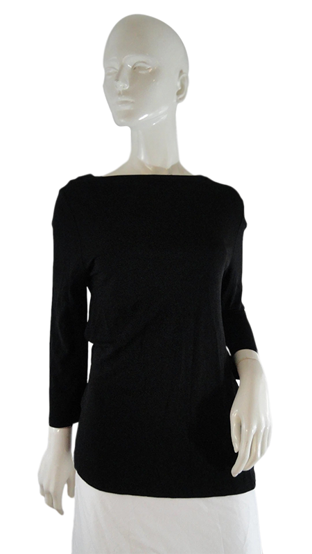 Lauren Ralph Lauren Top Black Size M (Gr )(SKU 000246-7)