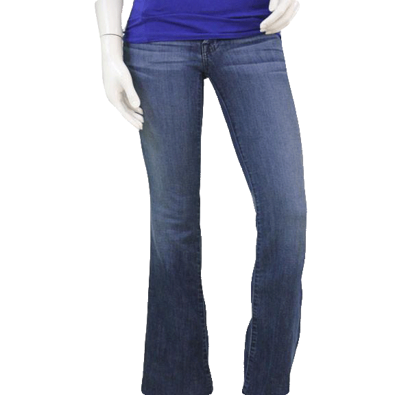 7 For All Mankind Denim Blue Jeans Size 25 SKU 000102