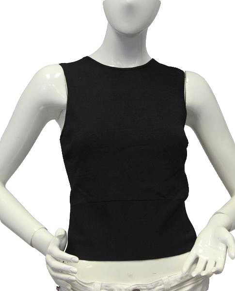 Laundry by Shelli Segal 70's Top Black Size Medium SKU 000101