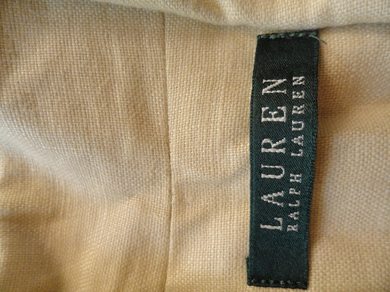Lauren Ralph Lauren Cream Colored Long Sleeve Jacket Size 6 SKU 000124