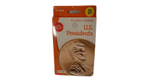 Flash Cards U.S. Presidents Ages 6+ (SKU 000189-6)