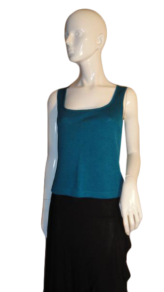 St. John Top Emerald Green Size S  (SKU 000218-1)