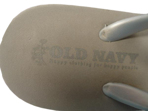 Old Navy Wedged Flip Flops Grey Size L (SKU 000060)