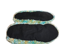 Bedroom Slippers Multi Colored Size M (SKU 000059-7)