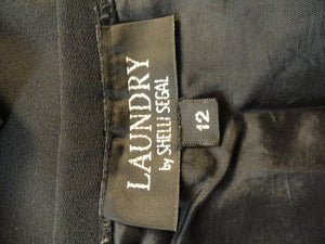 Laundry Little Black Skirt Size 12 SKU 000132