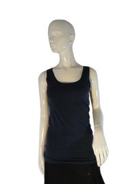 Skinny Tees Navy Tank Top S SKU 000187-5
