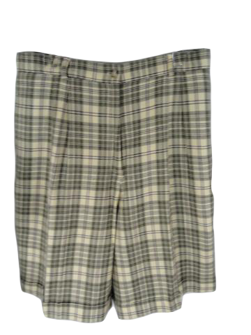 Talbots Bermuda Shorts Plaid Size 16 (SKU 000197-12)