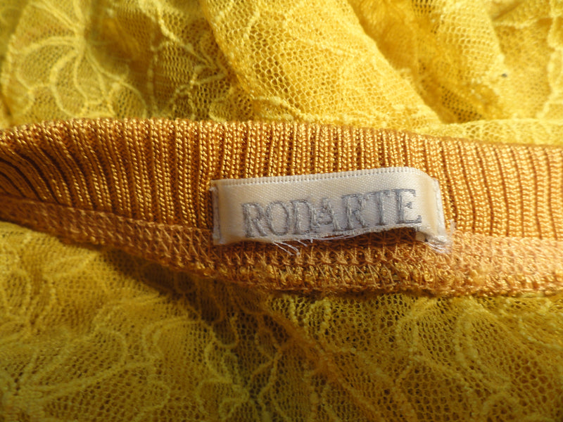 Rodarte Mustard Yellow 2 pc. Dress Set Size 1 (SKU 000041)