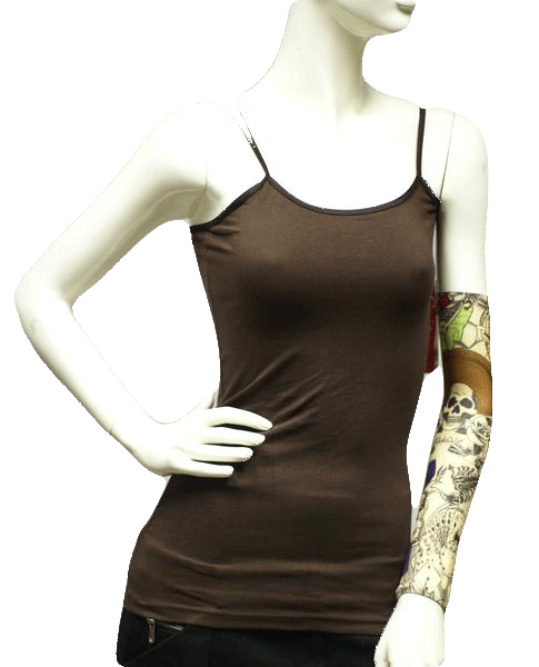 Grip Active Girls Brown Tank Top Size Large (SKU 000025)