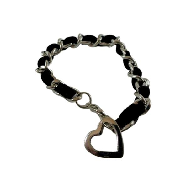 Bracelet Silver and Black (SKU 000242-29)