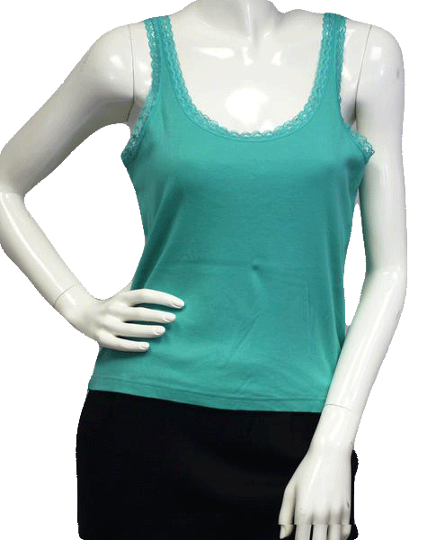 Talbots Tank Green Size Large SKU 000025