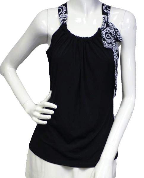 Black and White Tank Top Size Small (SKU 000023)