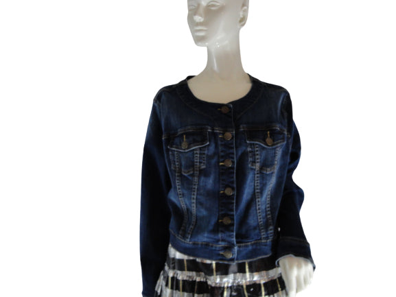 Torrid Denim Jacket Blue Size 3 SKU 000241-22