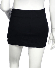 Sexy Black Studded Mini Skirt Size 8 (SKU 000026)