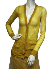 Rodarte Mustard Yellow 2 pc. Dress Set Size 1 (SKU 000093) - Designers On A Dime - 1