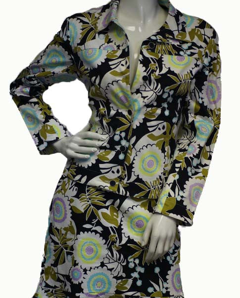 J'Envie New York Flor-Essence Suit Size 8 (SKU 000084) - Designers On A Dime - 1