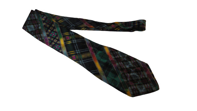 Men's Gianni Versace Tie Multiple Colors SKU 000284-10 Bg1