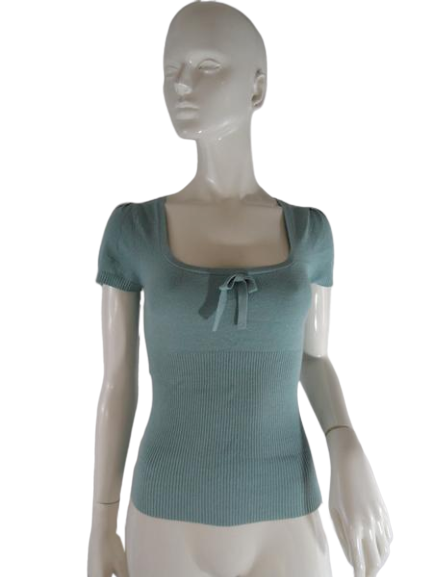 Trina Turk Top Mint Green Size M SKU 000237-11