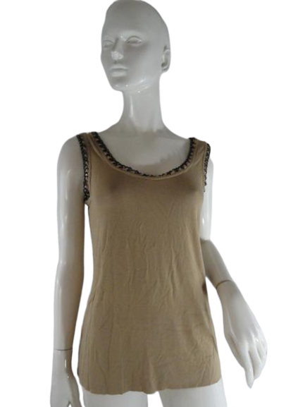 Bailey 44 Tank Top Tan Size S SKU 000237-12