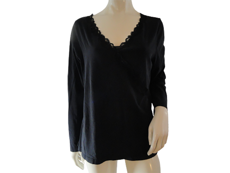Venezia Women's V Neck Top Sz 14 SKU 000283-21
