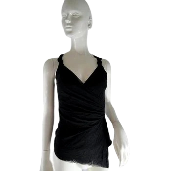 White House/Black Market Tank Top Black Size S SKU 000241-11