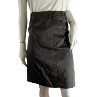 Zara Basic Skirt Brown Size S (SKU 000243-10)