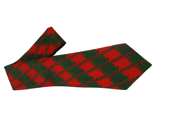 Men's Dec. 25th Checkered Tie SKU 000165