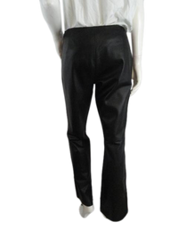 Calvin Klein 60's Black Leather Pants Size 8 SKU000039