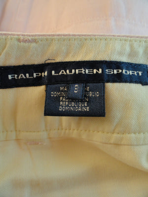 Ralph Lauren 90's Skirt Pink Sz 8 (Blue) SKU 000020