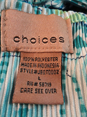 Choices 70's Tank Top Blue Size Large (SKU 000025)