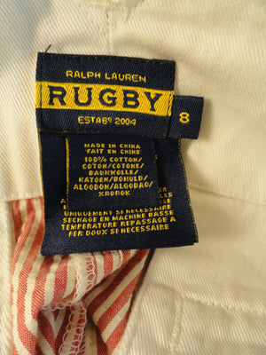 Ralph Lauren Rugby Skirt Red & White Size 8 (Blue) SKU 000029
