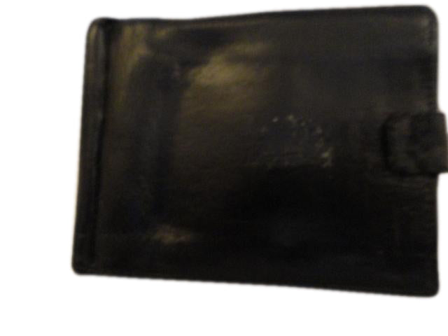 Men's Wallet Leather Black SKU 000216-29