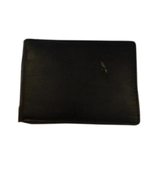 Men's Wallet Leather Black SKU 000216-28