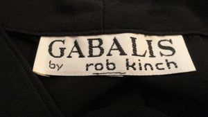 Gabalis by Rob Kinch Black Long Sleeve Shirt SKU 000170