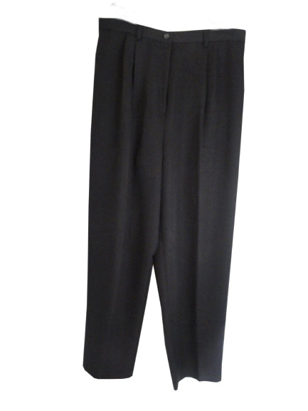 Samantha Sportswear Tall Dress Pants with Pleats Size 16 SKU 000134