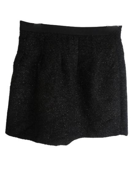 Ann Taylor Loft Black Mini Skirt Size 00 SKU 000144