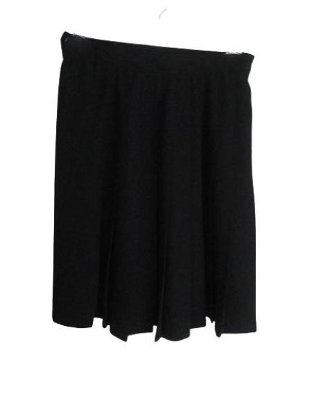 Ann Taylor Above Knee Length Black Professional Skirt Size S SKU 000202