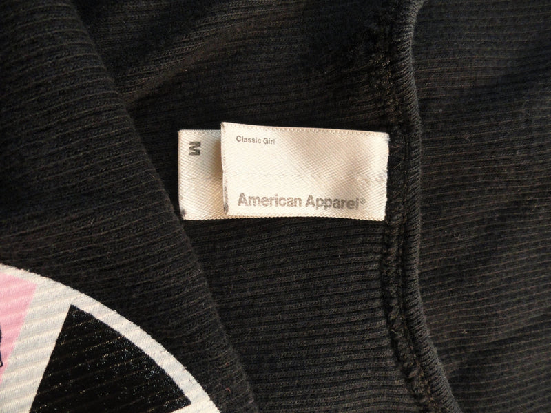 American Apparel Top Black Sz Medium SKU 000096