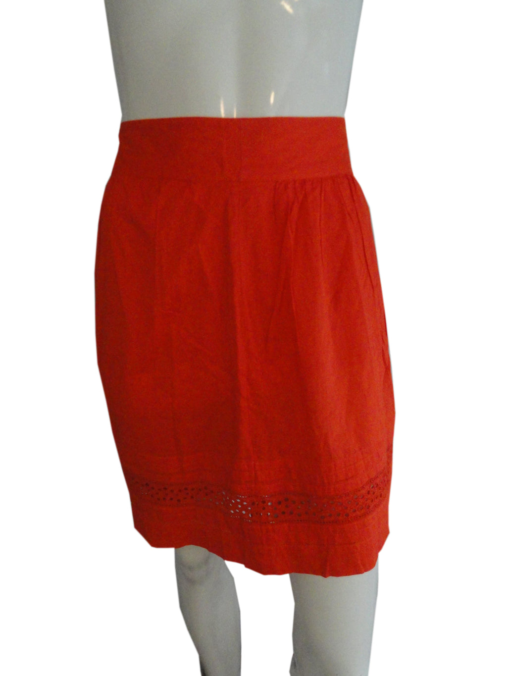 Ann Taylor Loft Orange Skirt Size  SKU 000233