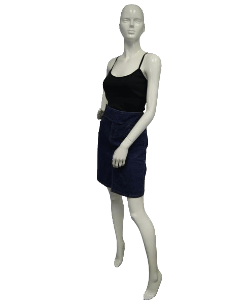 Tommy Hilfiger Skirt Get Down in Denim Size 6 (SKU 000021)