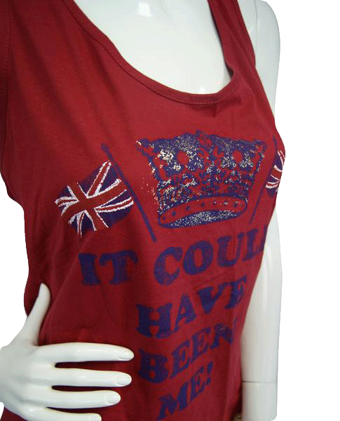 TU It Could Have Been Me Red Tank Size 20 (SKU 000051)