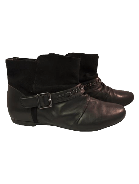Clarks Black Booties Size 9 US (7UK) (SKU000098)