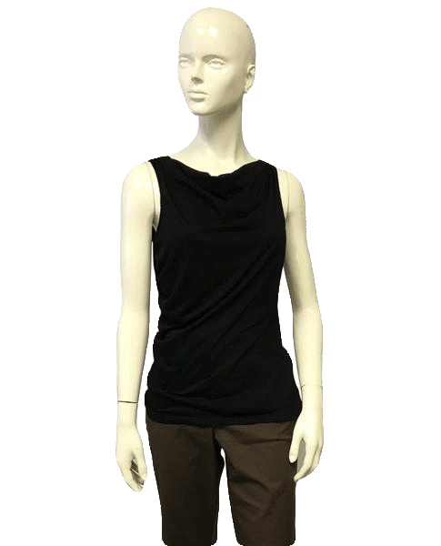 Ann Taylor Black Sleeveless Top Size Medium (SKU 000051)
