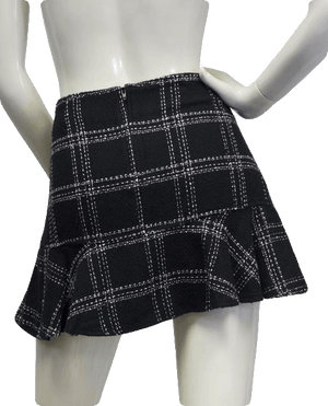 Xhilaration 60's Mini Skirt Black Size 9 SKU 000028