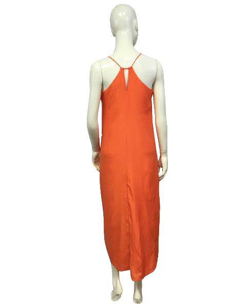 Old Navy 70's BOHO Orange Dress NWT Size SP SKU 000064