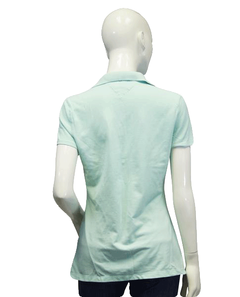 Tommy Hilfiger Polo Seafoam Size Medium (SKU 000024)
