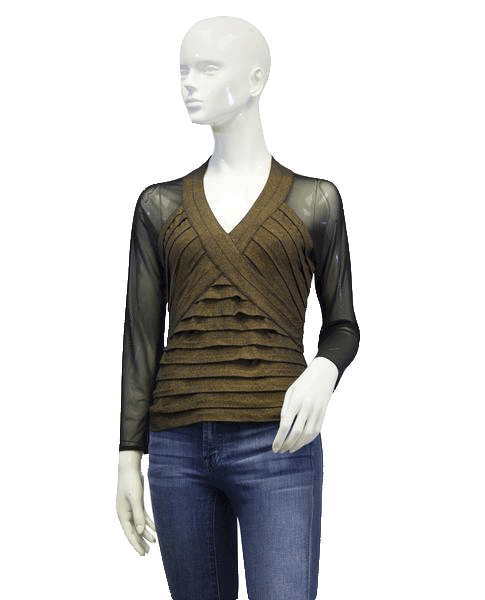 EXP Top Brown Sz 6 (SKU 000011)